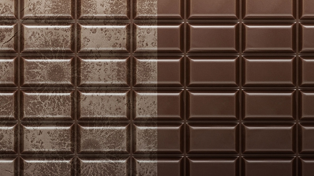 Chocolate with and without bloom - Chocolate and Confectionery - AAK