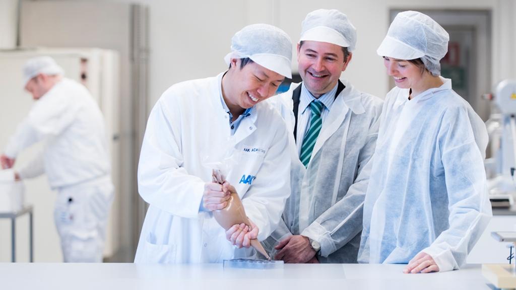 Ett team med innovativa medarbetare - Choklad och konfektyr - AAK