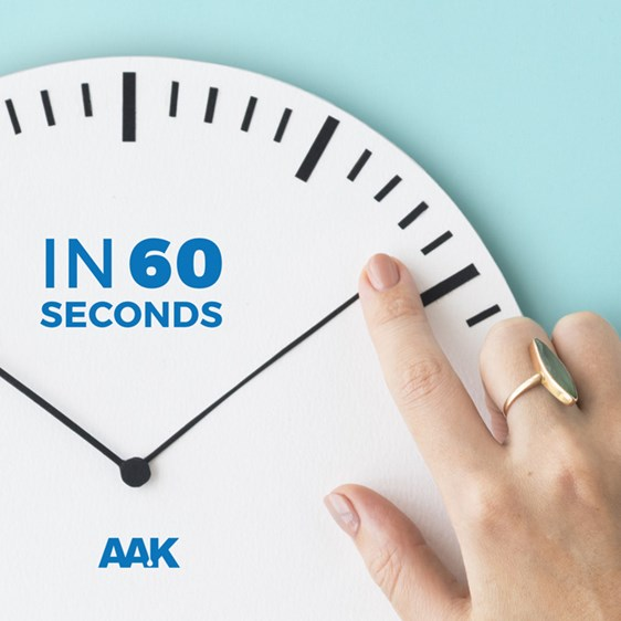 Finger Pointing on a Wall Clock - Media - AAK