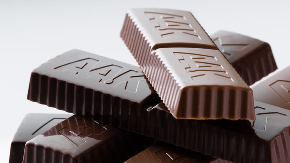 Chokladkakor med AAK-logo - Choklad och konfektyr - AAK