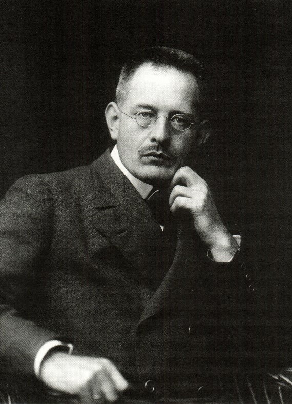 M.C. Holst ansat som teknisk leder i 1896 som 21-årig (Foto: Lokalhistorisk Samling)