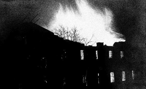 Brand i møllen 1916.