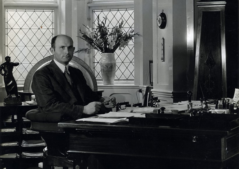 Thorkild Juncker var direktør for AO 1927-1945. (Foto: Aarhus Stadsarkiv)