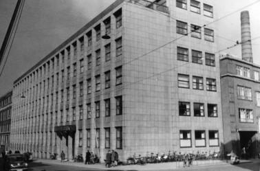 AO's kontorbygning i Bruuns Gade. (Foto: Den Gamle By)