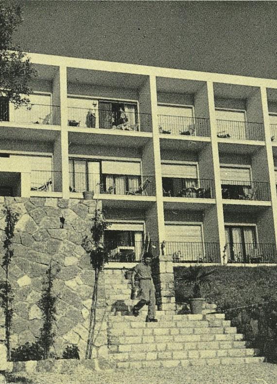 Casa Danese ved Gardasøen.