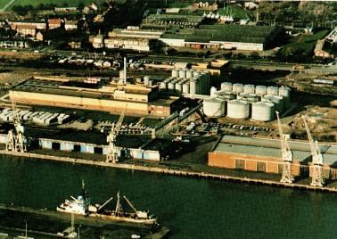 Anglia Oils i Hull i England.